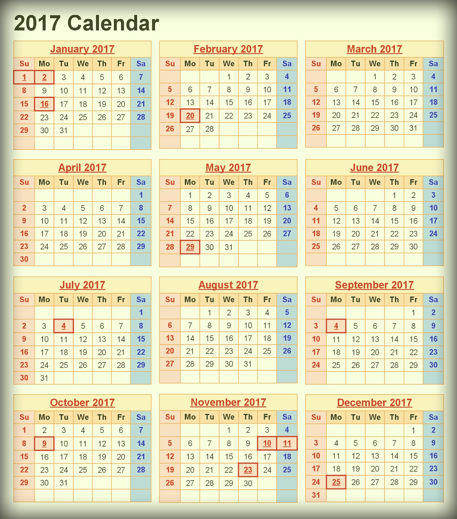 download printable calendar 2017  u2013 2019 printable calendar