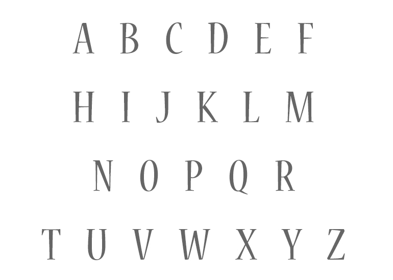 Free Printable Alphabet Letters Uppercase