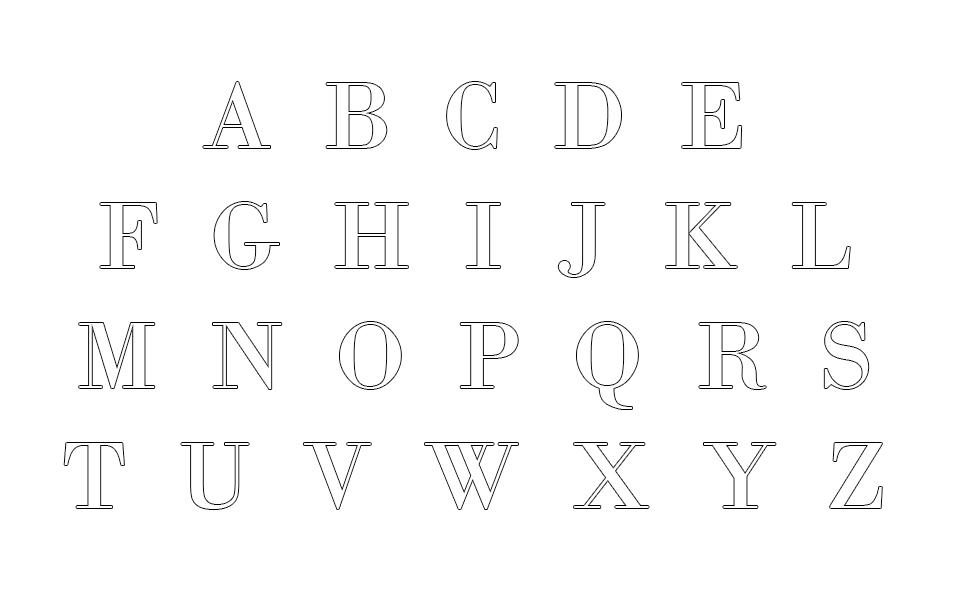 download printable alphabet templates free 2018