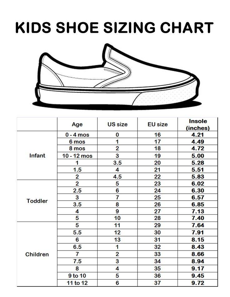 shoe size chart for conversion  u2013 2019 printable calendar