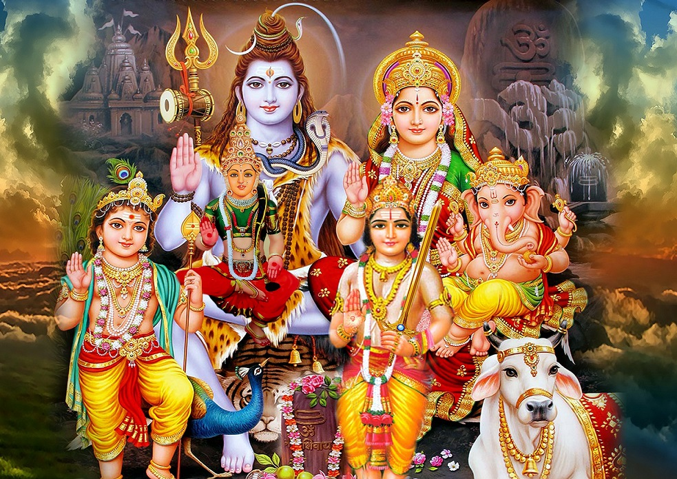 download family photo of lord shiva for facebook whatsapp