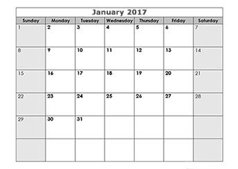 download free calendar template