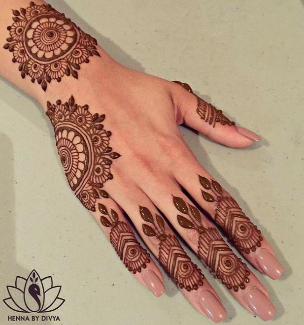 photo regarding Printable Henna Designs titled Very simple Mehndi types 2017 2019 Printable calendar posters