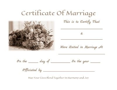 Printable marriage certificate download search results for printable marriage certificate download for kids yadclub Image collections