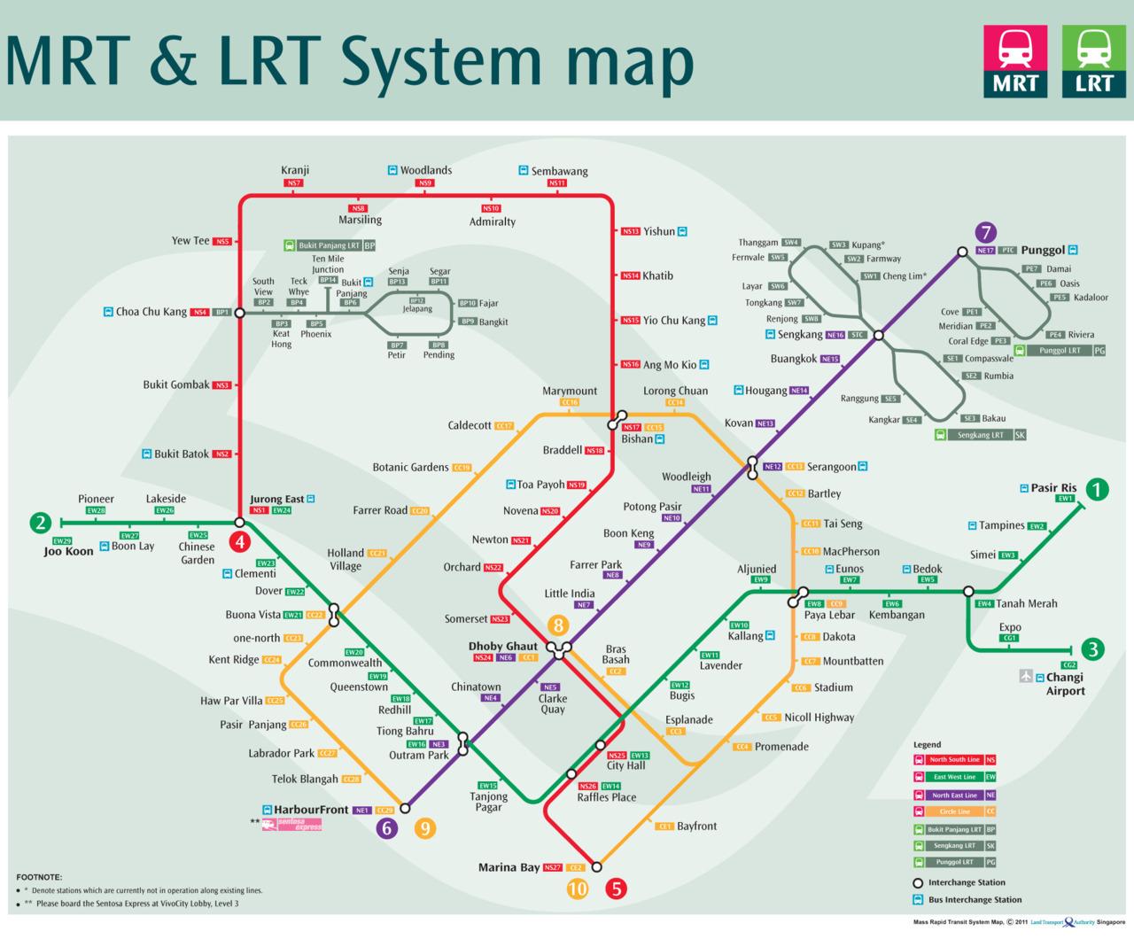 Singapore: Public Transportation