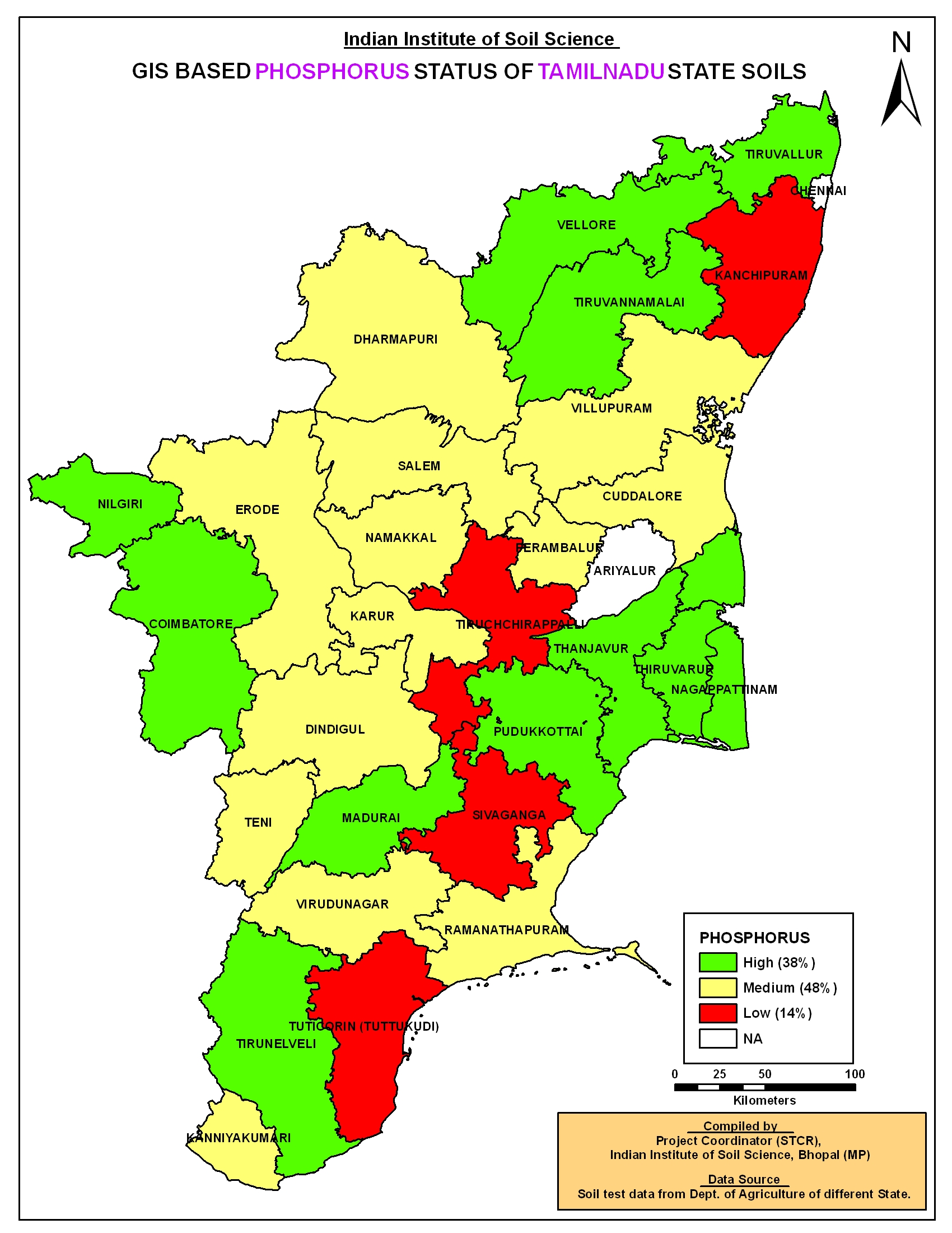 TAMIL NADU DISTRICT MAP - tamilnadu districts