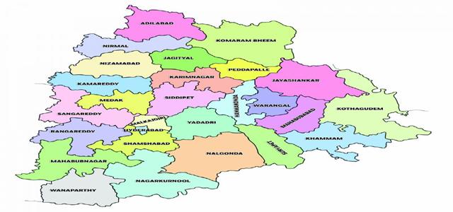 Telangana Map Download Free Printable Graphics