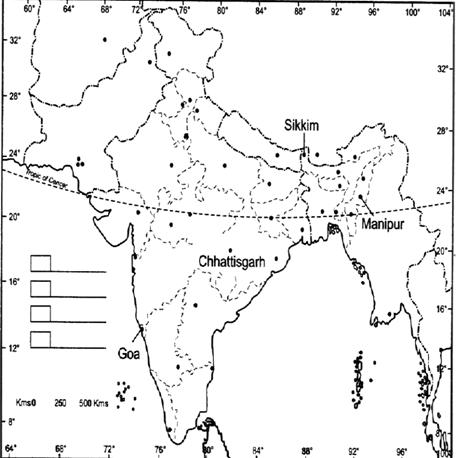 Blank political map of india - 2019 Printable calendar ...