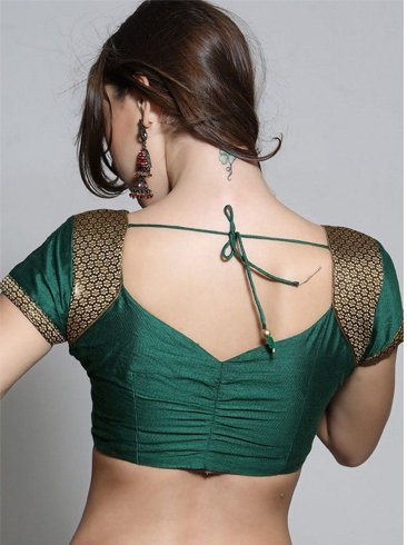 Blouse design back neck photos pattern