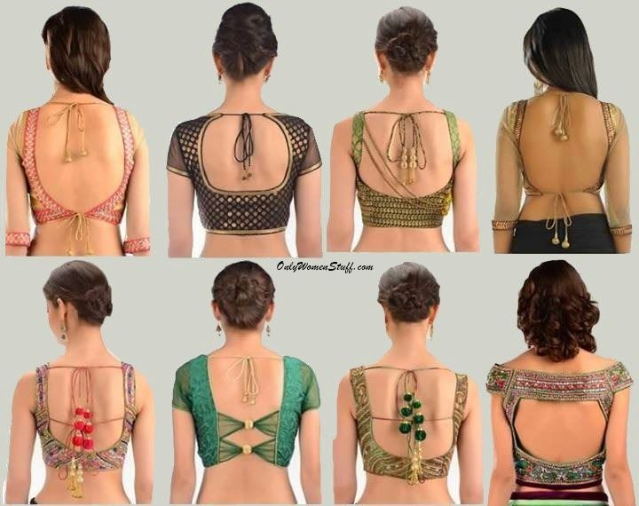 Latest designer saree blouse patterns