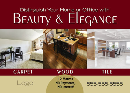 Commercial Flooring designs ads