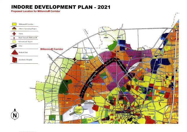 Development Master plan 2021 Indore, Madhya Pradesh ...