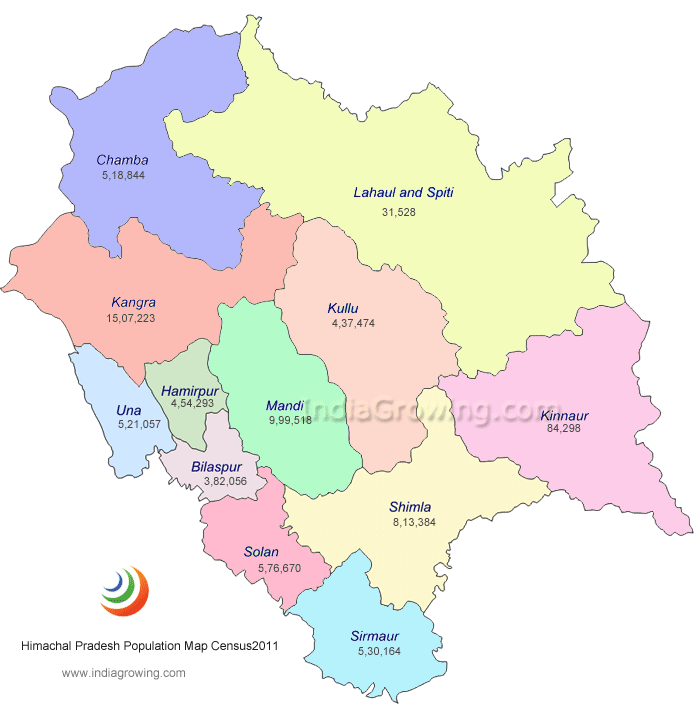 himachal pradesh political map  u2013 2019 printable calendar