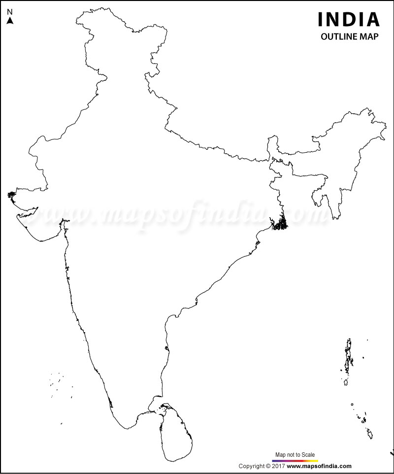 download blank printable outline map of india photo  u2013 2019 printable calendar posters images