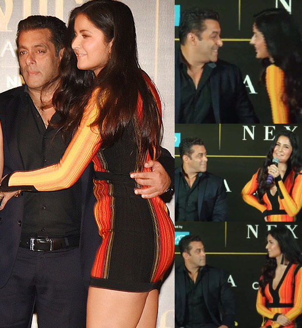 Salman khan with katrina kaif latest photo