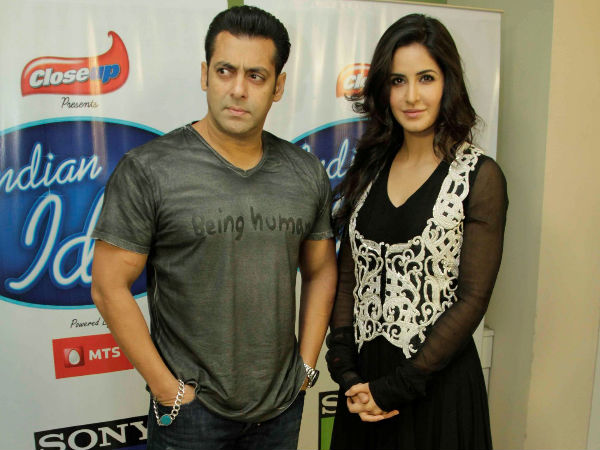 Salman khan with katrina kaif latest pic