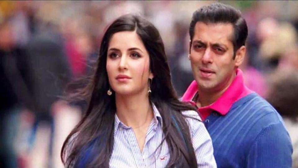 Salman khan with katrina kaif tiger zinda hai