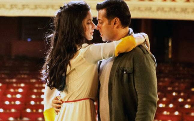 Salman khan with katrina kaif