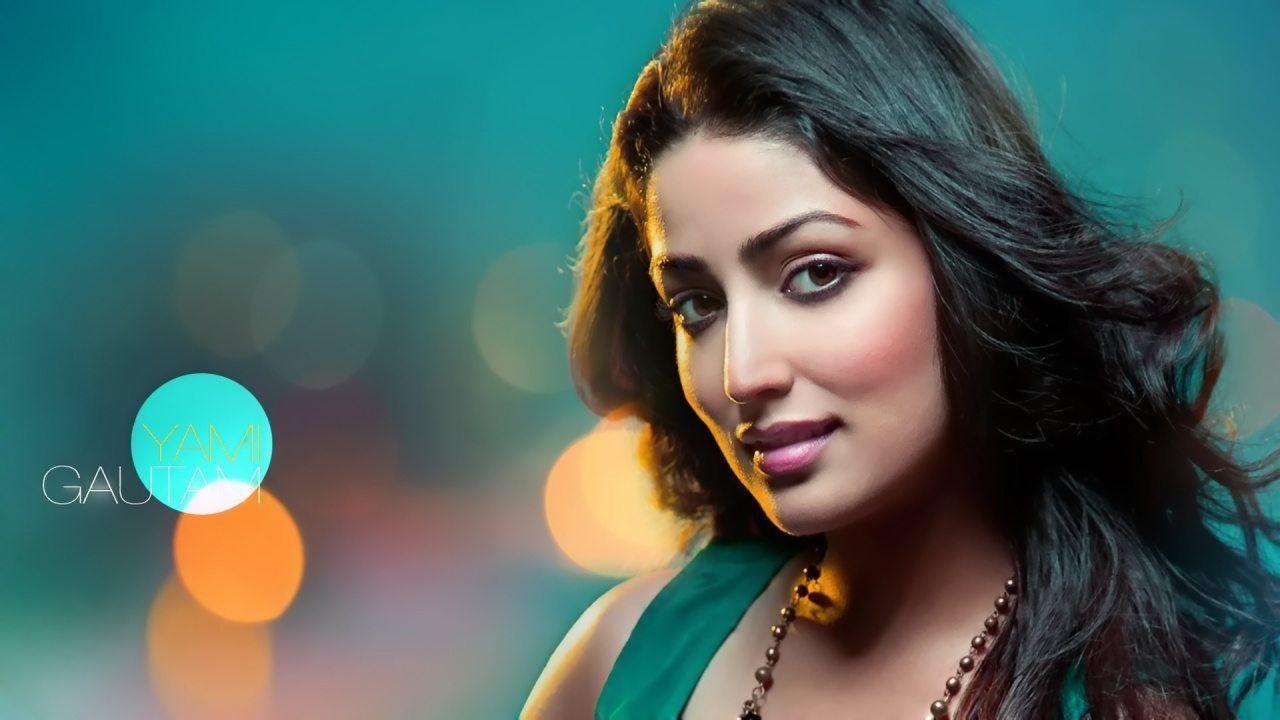 South indian actress hd wallpaper 1366x768 Yami gautam