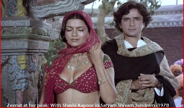 Zeenat aman satyam shivam sundaram wallpaper