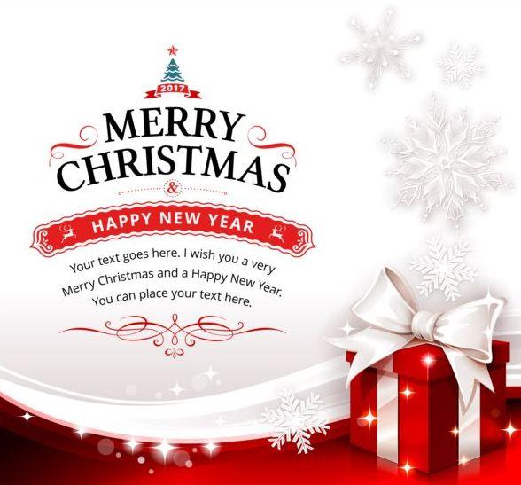 2017 Merry christmas card