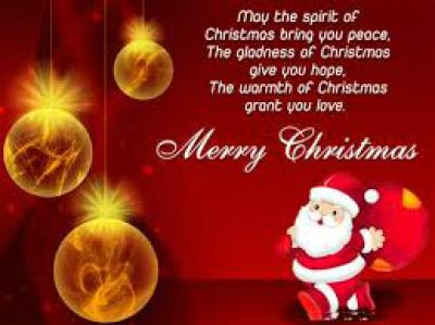 2017 Merry christmas everyone images with santa