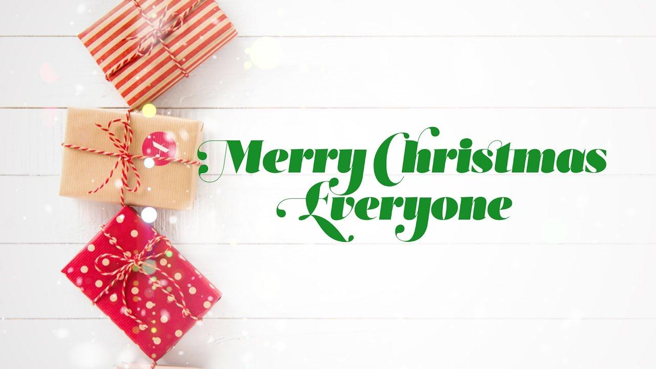 2017 Merry christmas everyone