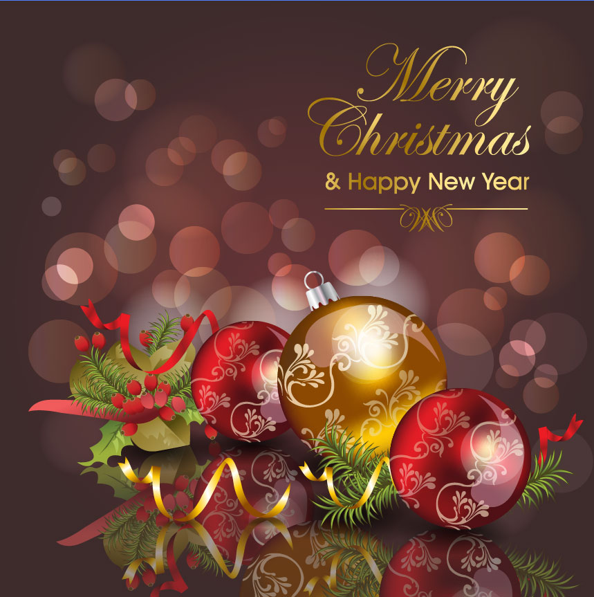 Download Merry christmas card