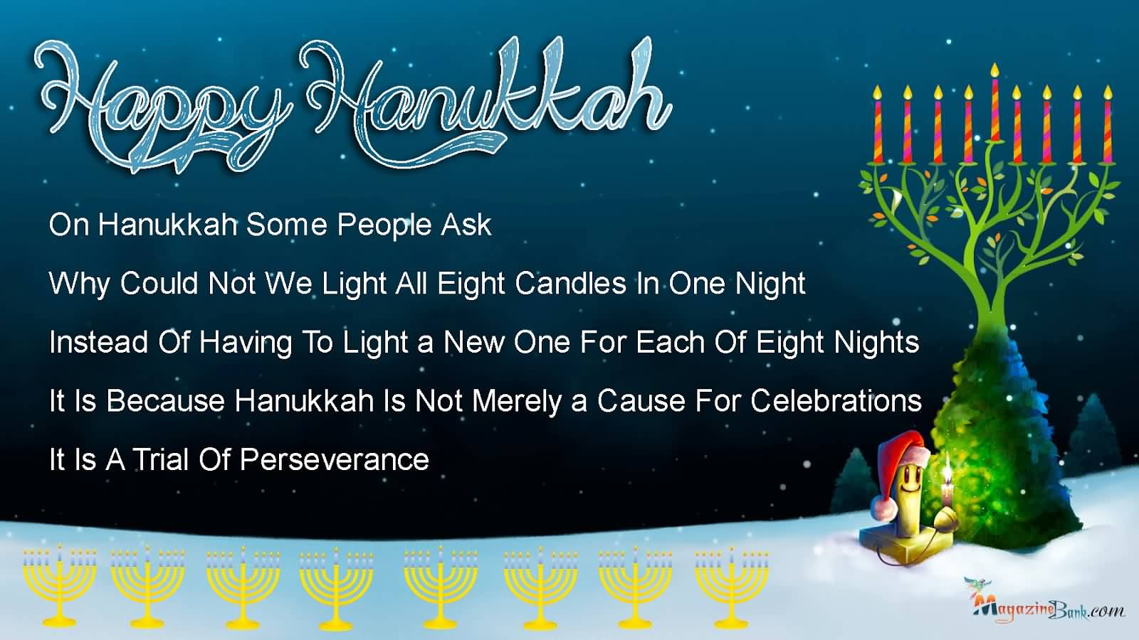 Hanukkah wishes SMS