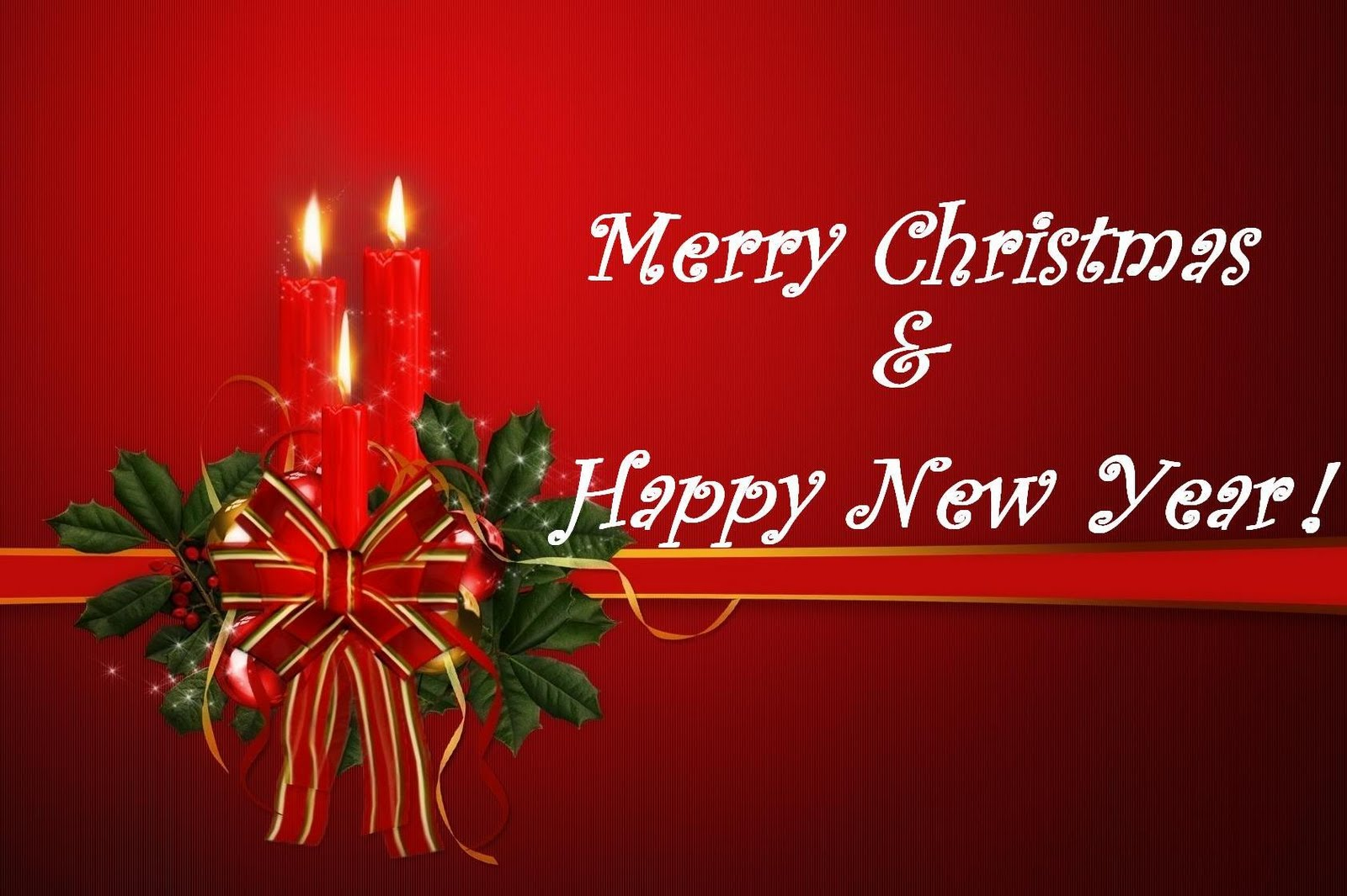 Merry christmas and happy new year sms