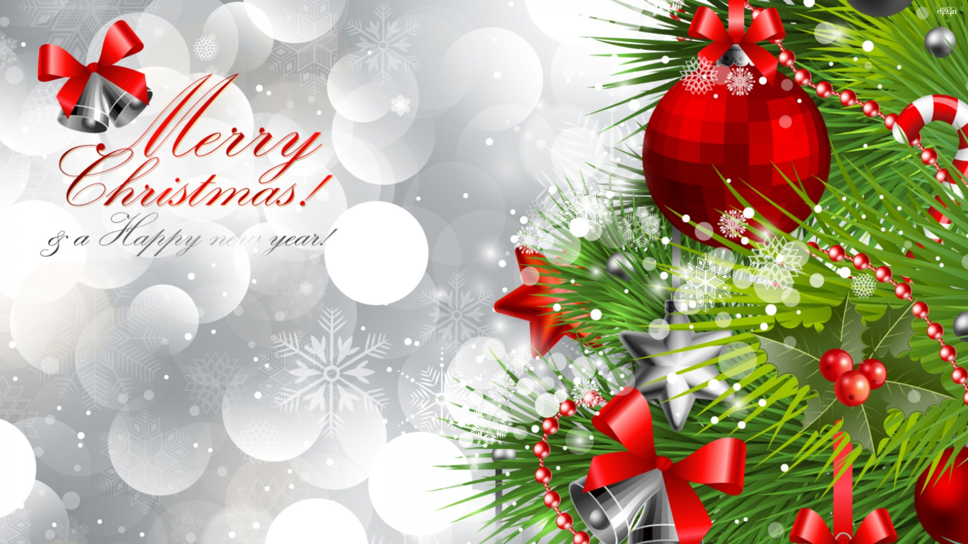 Merry christmas and happy new year whatsapp card