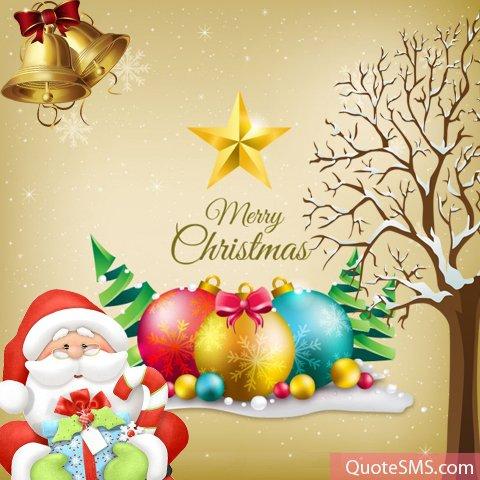 Merry christmas wallpaper for FB whatsapp