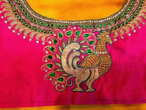 Dress Designs Embroidery Works