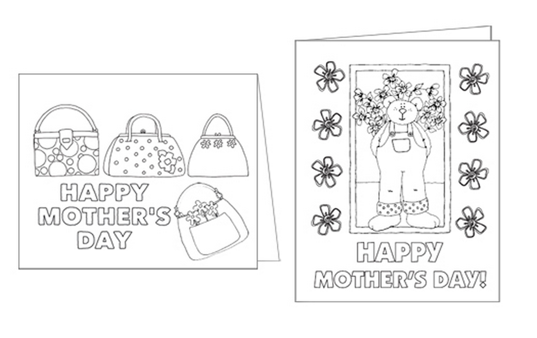 2018 Printable mothers day cards for free
