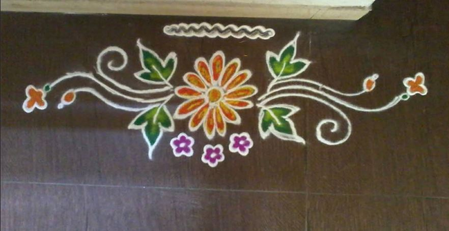 Border Rangoli Designs