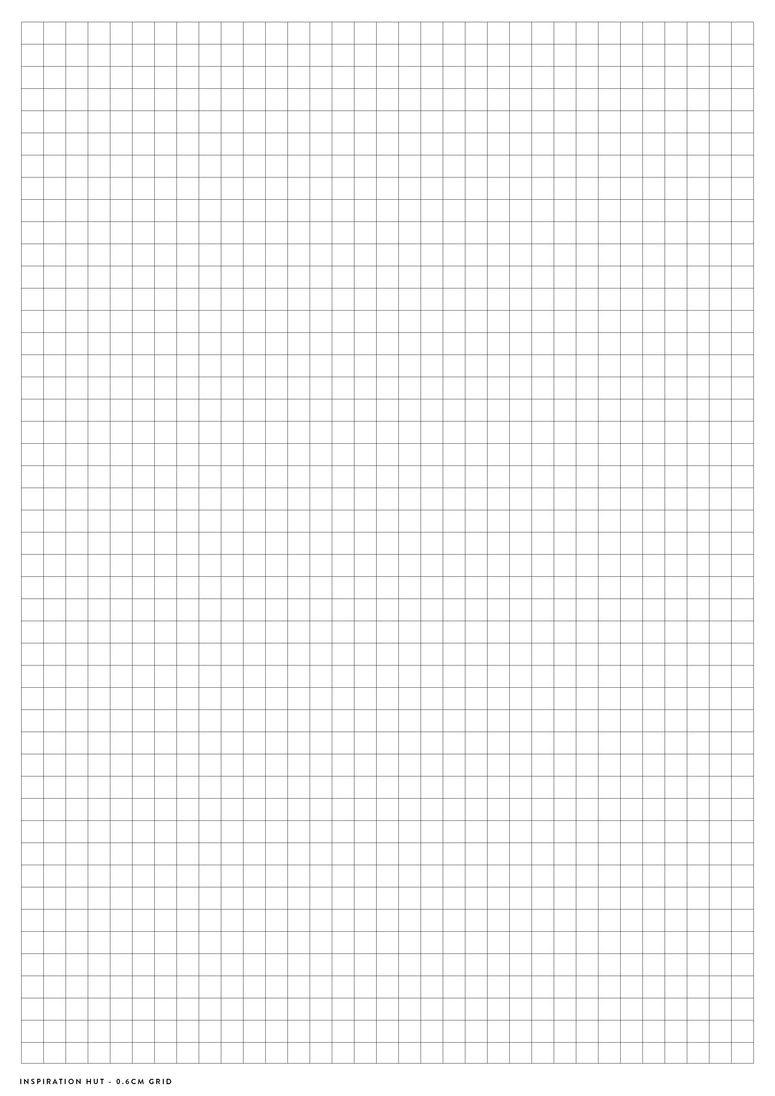 Blank Grid paper printable