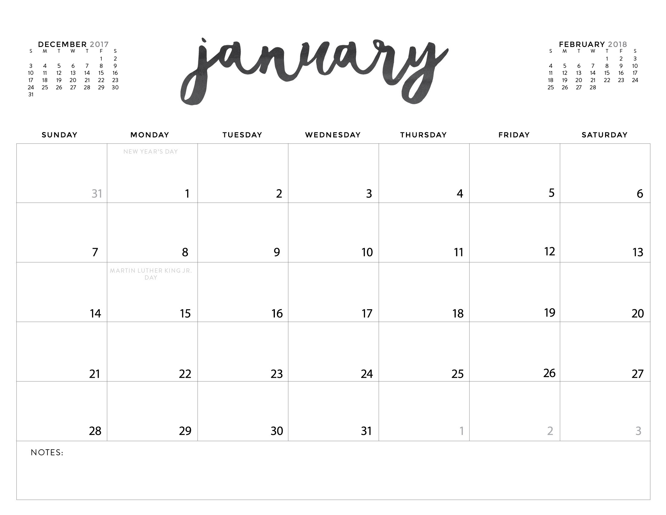 Free printable calendar | Download Free Printable Graphics