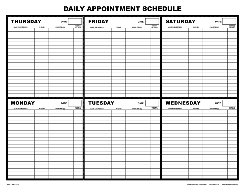 Appointment Calendars Free Urgup Kapook Co