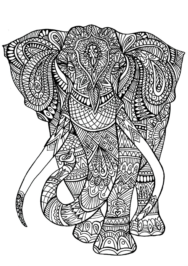 Download Printable coloring pages for adults