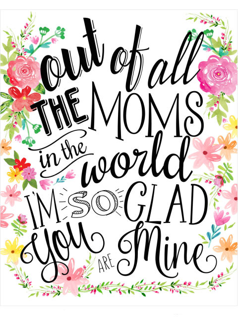 Download Printable mothers day cards free