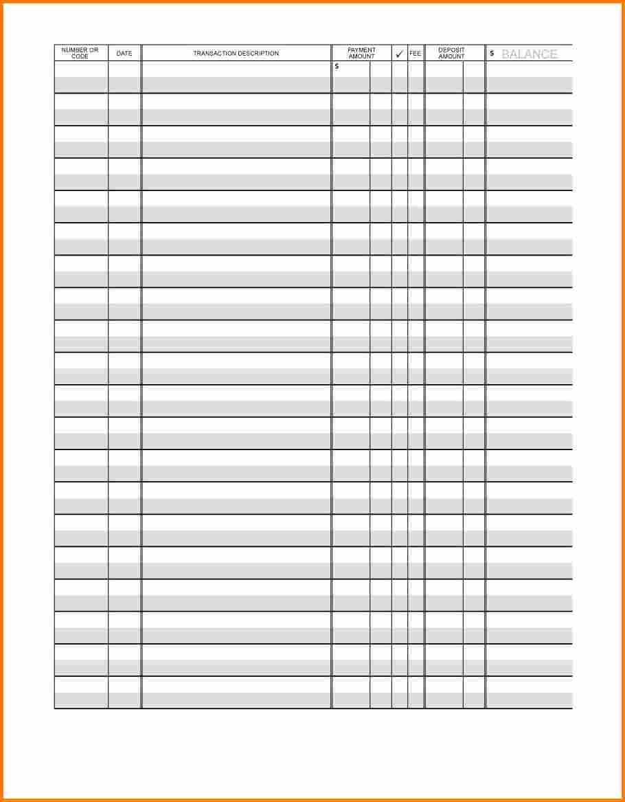 Download printable bank register book