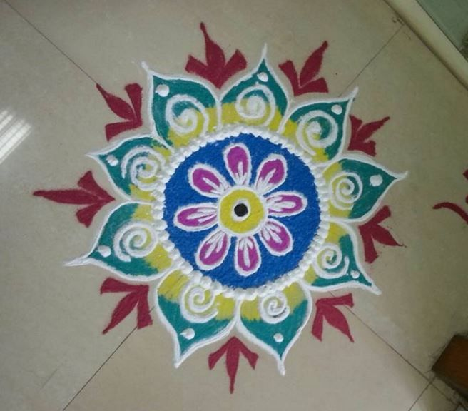 Free Simple Rangoli Design Images Download 2018