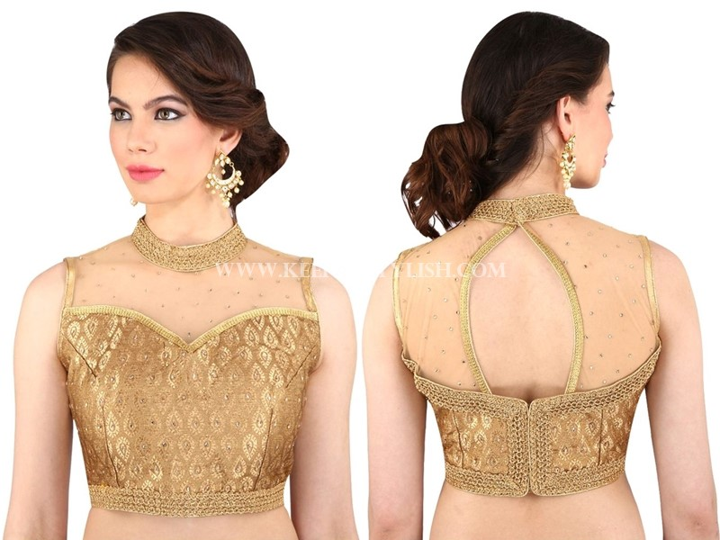 Blouse Design Patterns Back Neck With Net