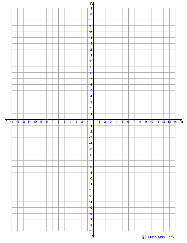 Grid paper printable for maths