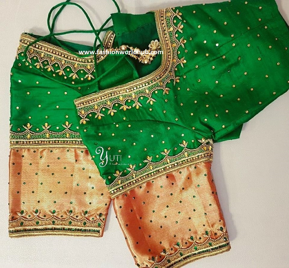 Images Of Maggam Work Blouse Designs Latest | Download Free Printable Graphics