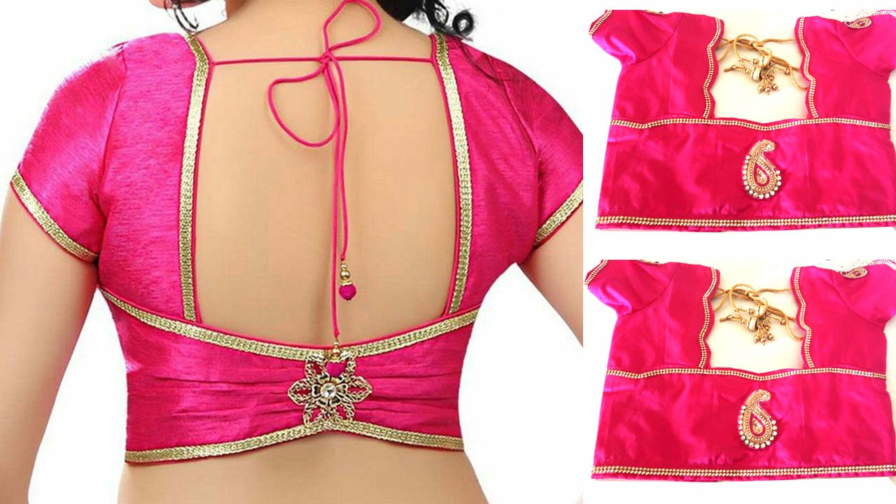 Blouse Design 2020 Cutting And Stitching Latest Kasu Maaggam Work Blouse Designs Smart Easy Ideas Blouses Discover The Latest Best Selling Shop Women S Shirts High Quality Blouses