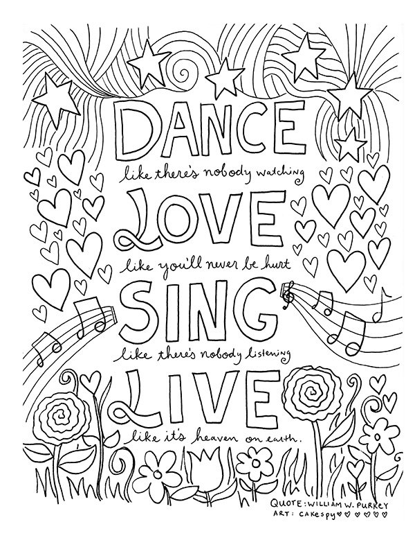 Printable coloring pages for adults and kids