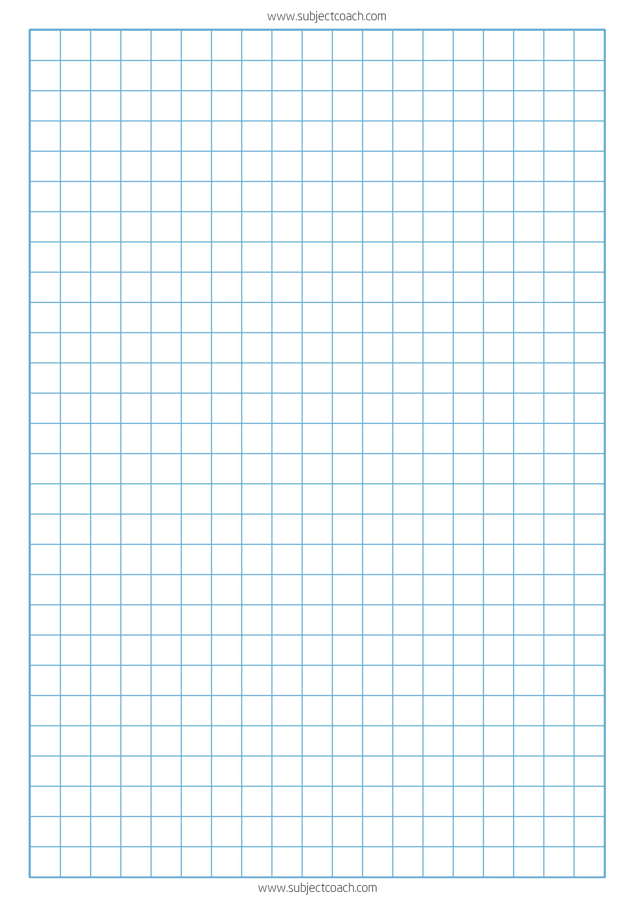printable graph paper standard