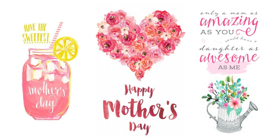 Printable mothers day cards online