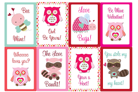 Printable valentine cards free